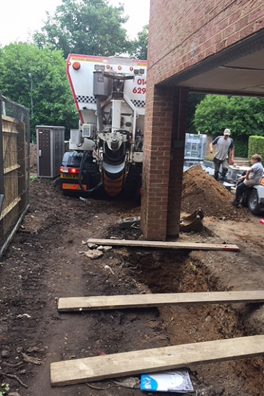 Concrete for Footings